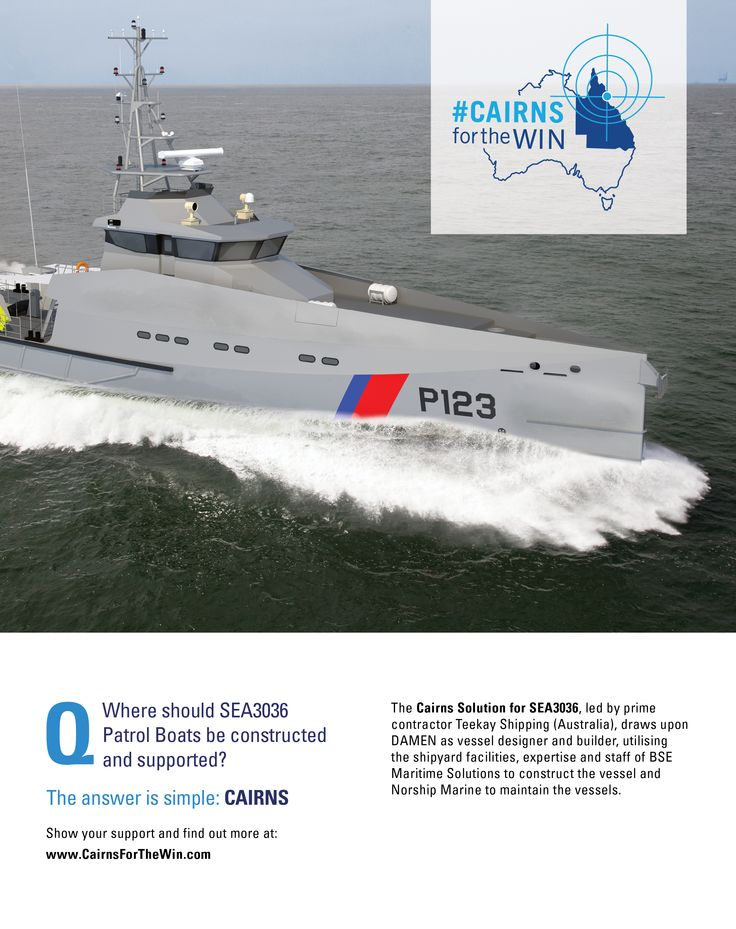 The Pacific Patrol Boat campaign roll out at Pacific 2015 Maritime Expo.
