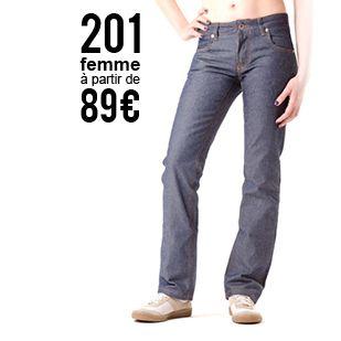 Jeans 100% coton bio, entièrement fabriqué en France - 1083 - Patron gratuit disponible