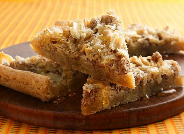 Love baklava, don't love the long tedious process of preparing it.  Perhaps this is the solution?