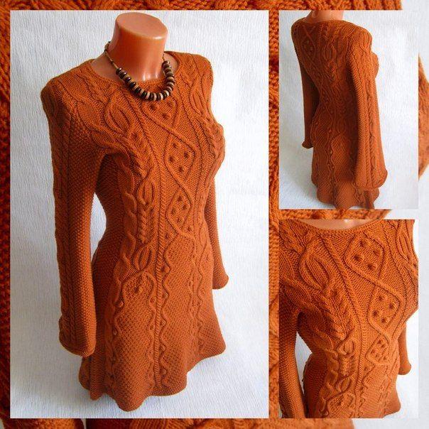 Узорчатое платье