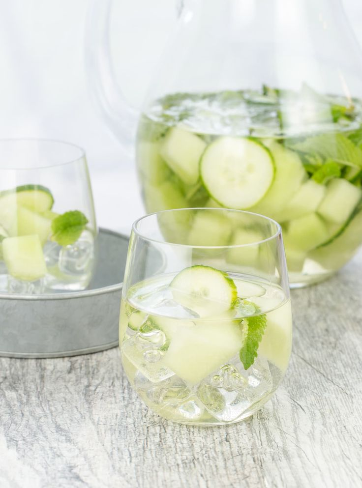 Beat the heat this summer and quench your thirst with this super refreshing, super simple Cucumber Melon Sangria recipe.