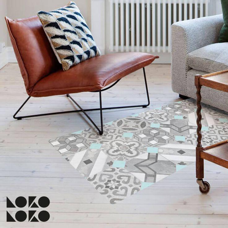 suelo de mosaico de baldosa hidrulica