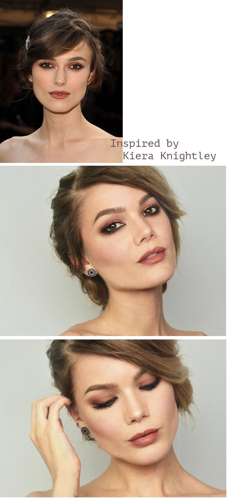 celebrity makeup – Keira Knightley