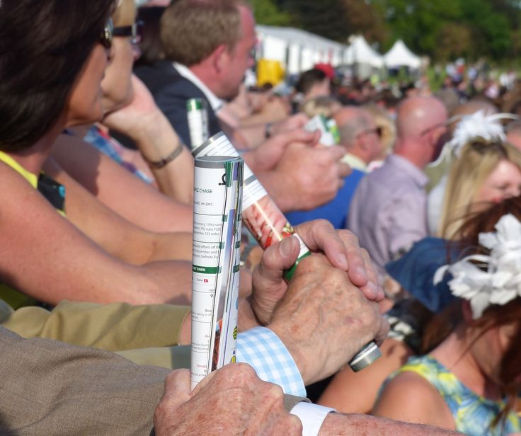 """""""And they're off"""".  2015 Ladies Night at Uttoxeter Racecourse, Staffordshire.  http://www.uttoxeter-racecourse.co.uk"""