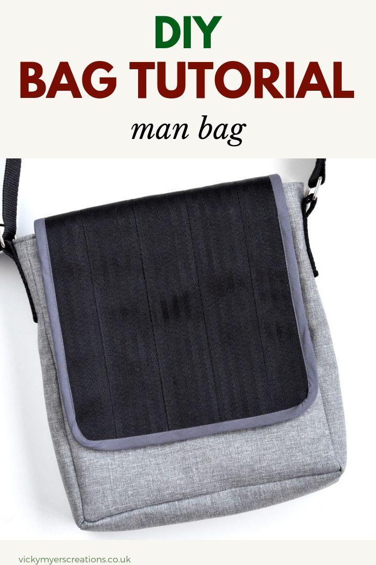 DIY Mans Messenger Bag (post sponsored by Volkswagen