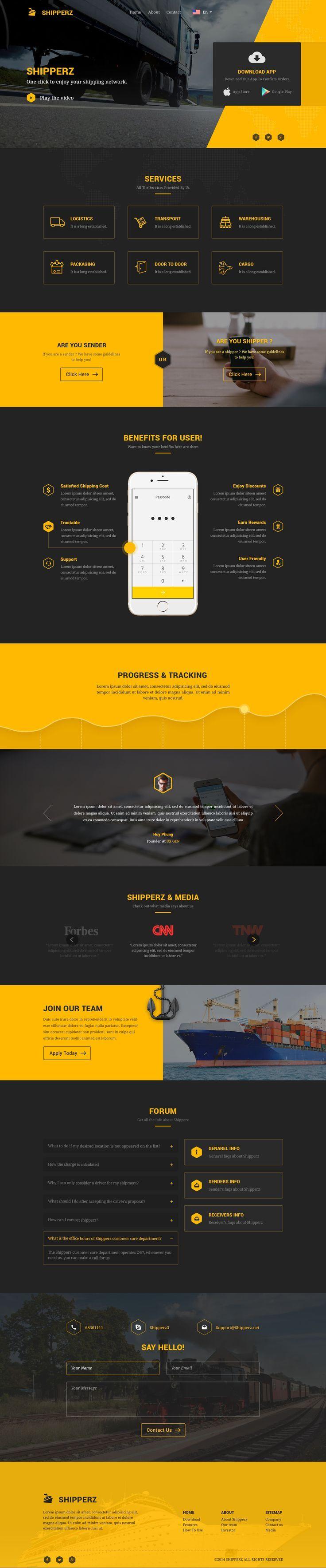 Landing Page Design. Web Design. Opus Online.