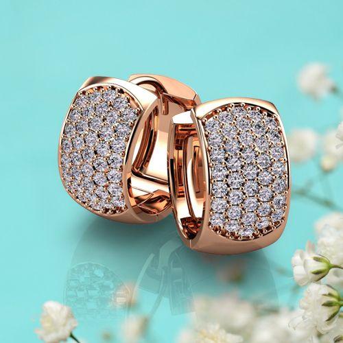 Diamond Stud Earrings, White Gold Earrings for Men & Women, Discount Pearl & Hoop Earrings, 1 Carat Affordable Diamond Earrings, Princess Cut Rose Gold Earrings for Sale – Union Diamond