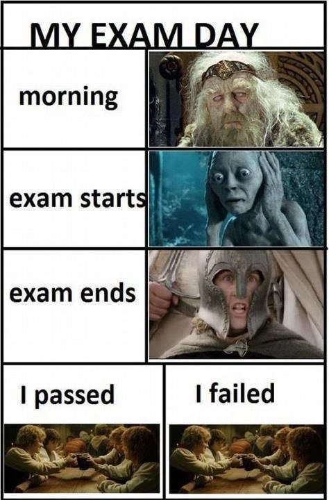 So true, hahaha..sometime there I dye between exam starting and ending...thanks AP Calculus