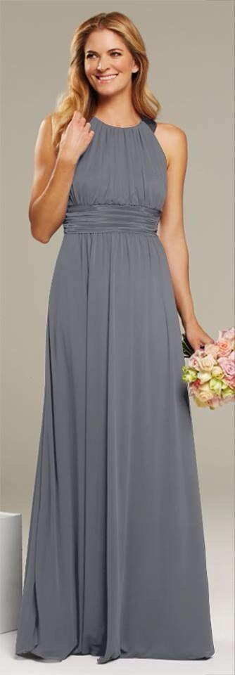 Charcoal mr k bridesmaid dress wedding pinterest for Charcoal dresses for weddings