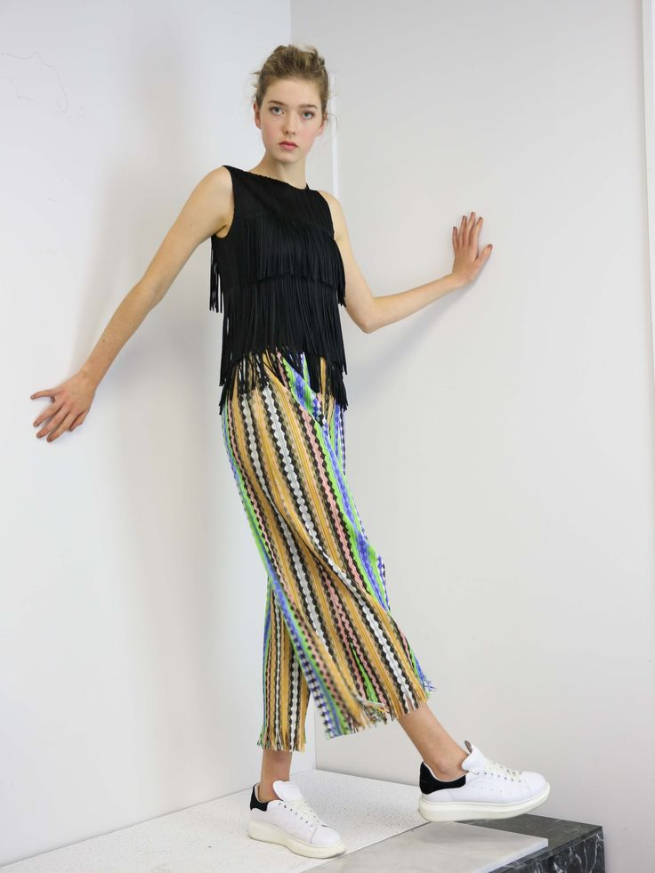 PLEATS PLEASE ISSEY MIYAKE Light Breeze Pants with Pockets