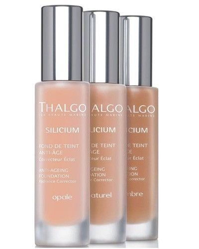 To tie with its marine skincare offering Thalgo launches Silicium Anti-Ageing Foundation  #antiageing #skintone #makeup #PBmagazine #thalgo