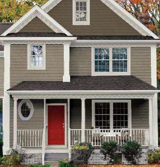 Home Exterior Paint Color Combinations