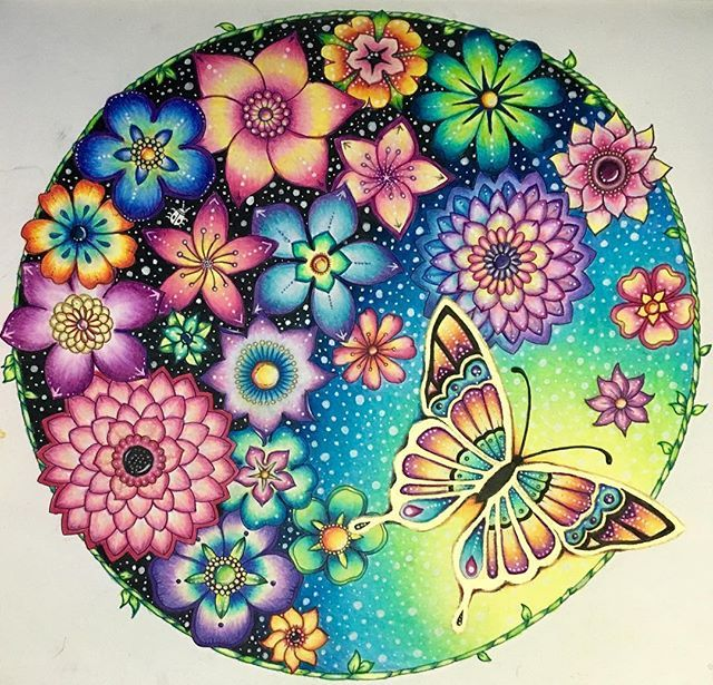 I Used Prismacolor Pencils White Gelly Roll Gel Pen And Gold Ink For The Butterfly