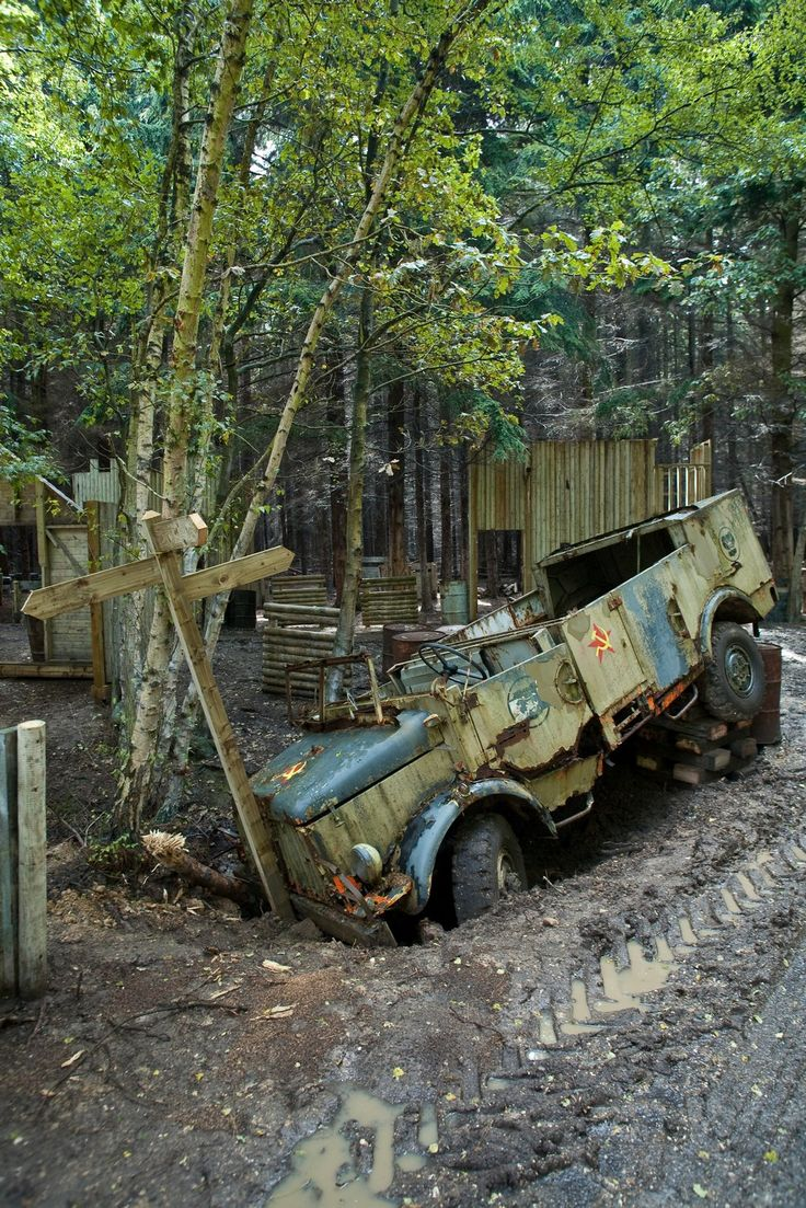 Soviet-era military truck, direct from the 007 movie Tomorrow Never Dies. Exclusive to Delta Force Paintball Berkshire! #paintball