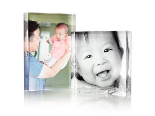 Photo Gallery Acrylic Block #homedecor