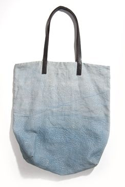 #canvas bag, #blue