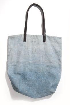 #canvas bag, #blue