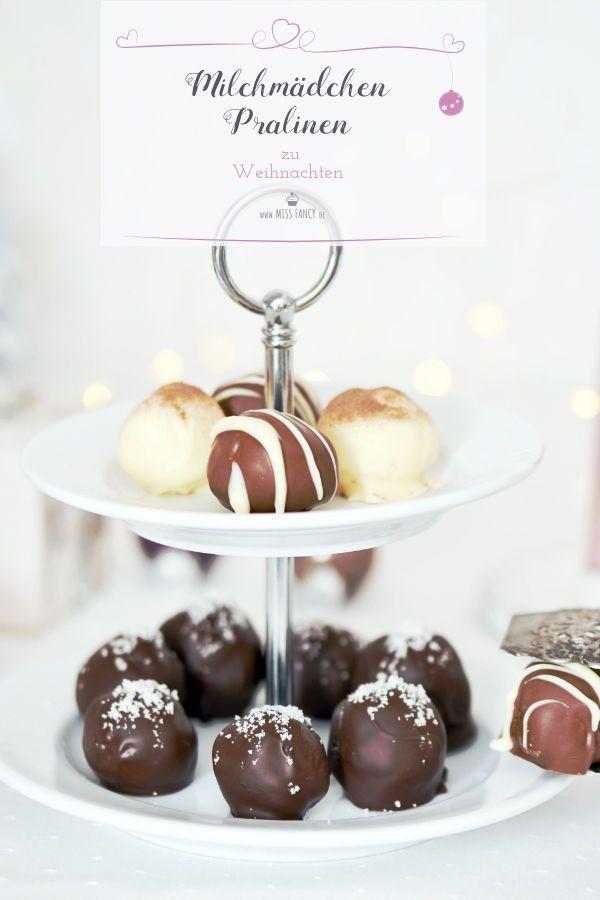 Geschenke aus der Küche Dreierlei Milchmädchen-Pralinen zu - geschenke aus der küche weihnachten