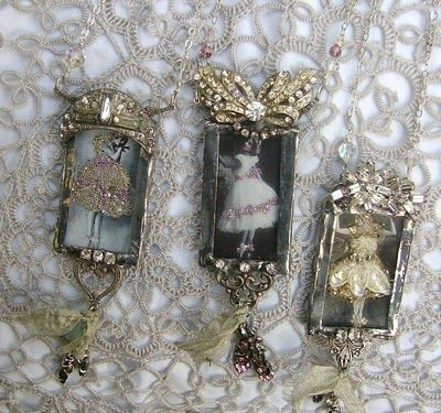!Resins Jewelry, Altered Jewelry, Using For Old Jewelry, Costumes Jewelry, Vintage Necklaces, Altered Art, Art Deco, Vintage Style, Amazing Jewelry