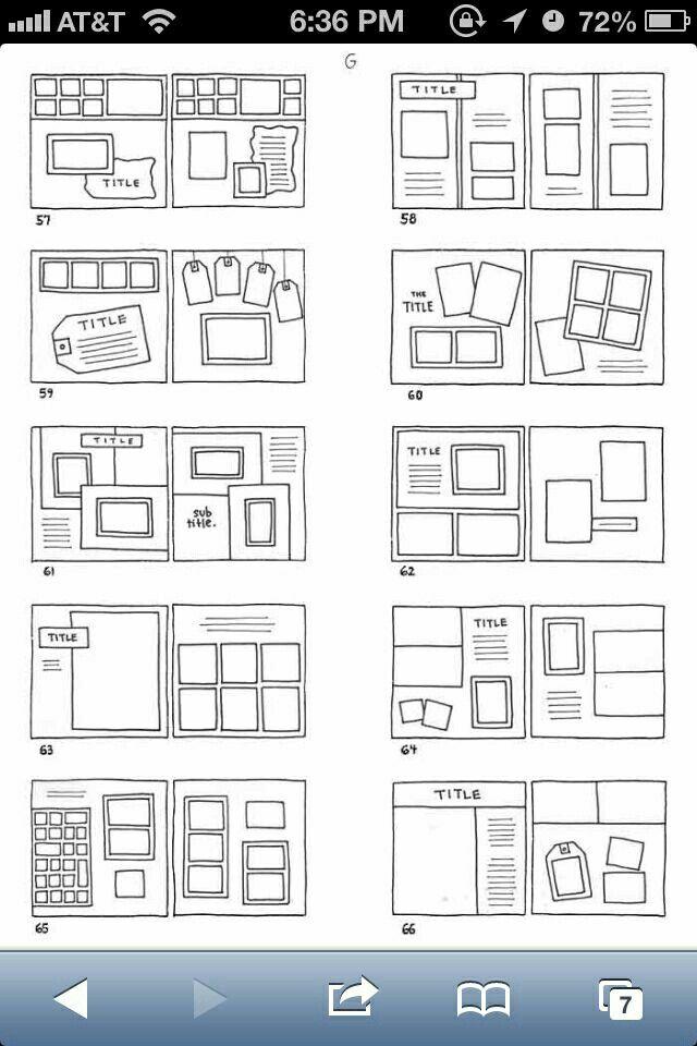 Various layouts