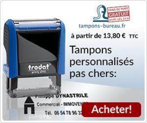Tampons-bureau.fr : les tampons personnalisés pas chers