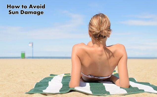 Lounging in the sun for too long can cause skin problems. Here is how to avoid sun damage and protect your skin in the future: