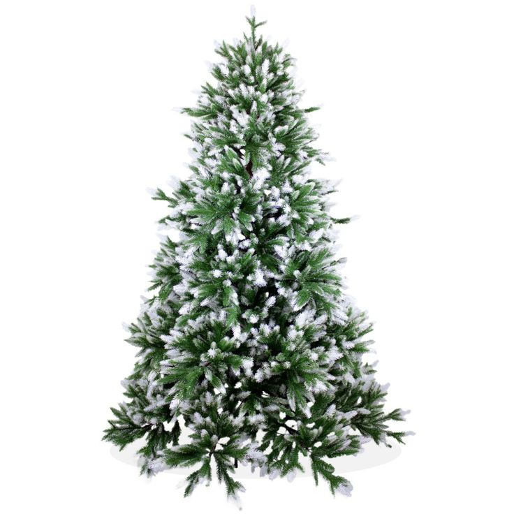 Künstlicher Weihnachtsbaum 180cm DeLuxe PE Spritzguss, beschneiter Tannenbaum Nordmanntanne, Christbaum                                                                                                                                                                                 Mehr