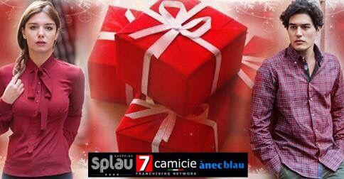 Woman & Man 7 Camicie Splau & ànecblau. Italian Brand.