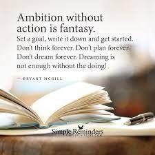 ambition famous quotes