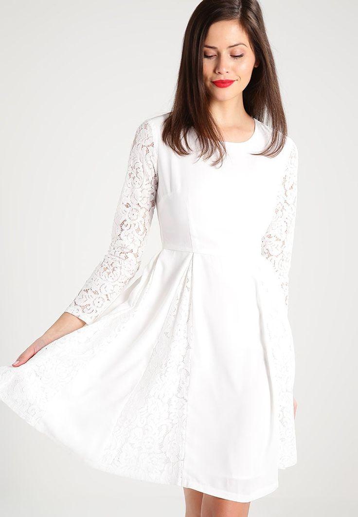 Carolina Cavour Robe de soirée white - Zalando