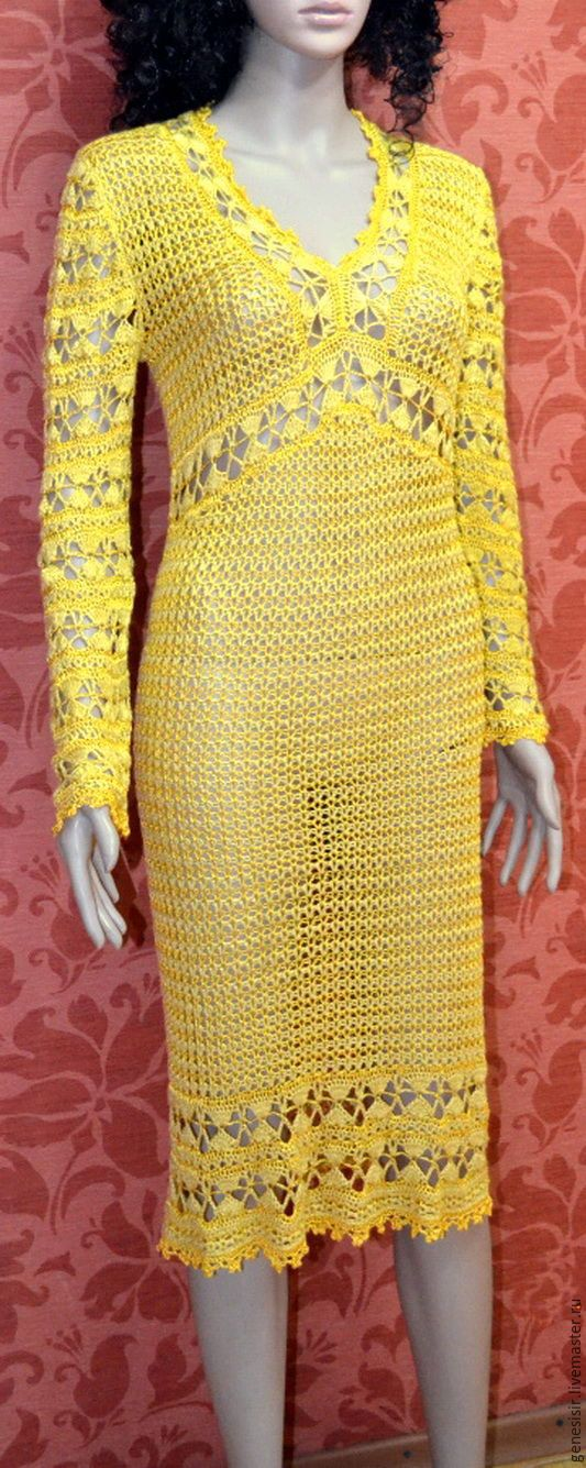 Silky Sun crocheted dress
