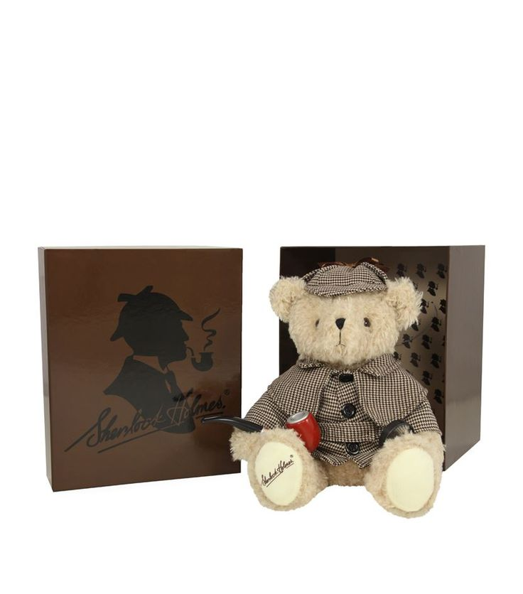 Hansa Sherlock Holmes Teddy Bear (28cm) available to buy at Harrods. Shop luxury children's toys online and earn Rewards points.