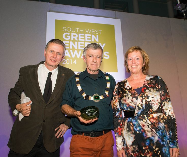 Frome town council 2014 - Most Proactive Public Sector Body at the South West Green Energy Awards for putting sustainability at the top of our agenda
