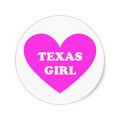 Texas Girl Sticker