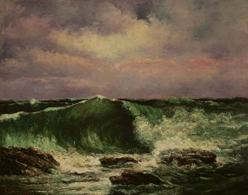 La Vague Gustave COURBET