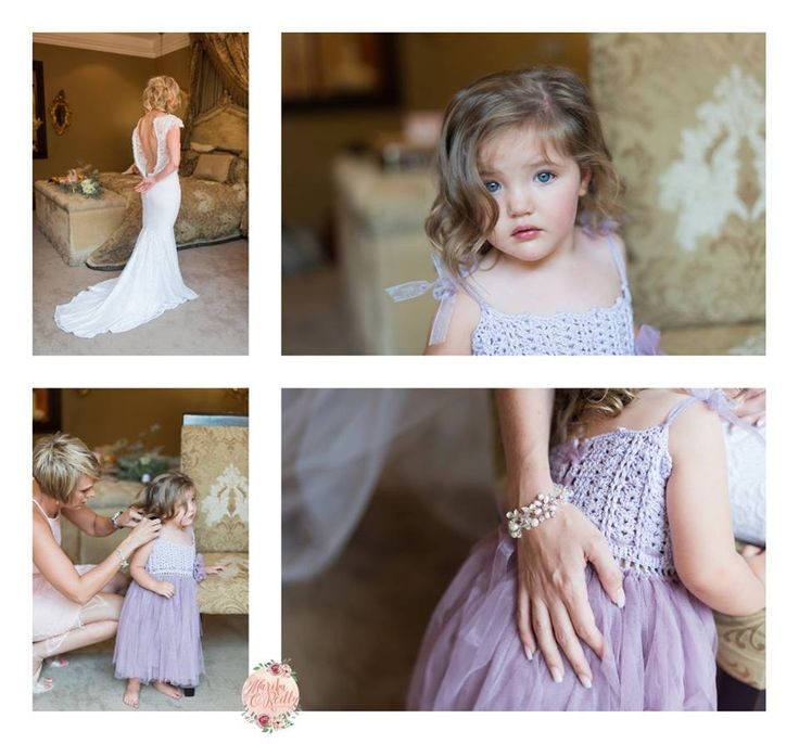 Beautiful crochet flower girl dresses. Unique and limited only at www.momentswithmom.com   #brides #wedding #ootd #bridal #flowergirl