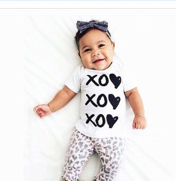 XOXO Tee- Infant - baby clothing, Toddler tee- Hipster Kid Clothes - Modern  - Kids Clothing - Toddler Clothing - Baby Tops - Toddler Tee by LittleJonesies on Etsy https://www.etsy.com/listing/245112494/xoxo-tee-infant-baby-clothing-toddler