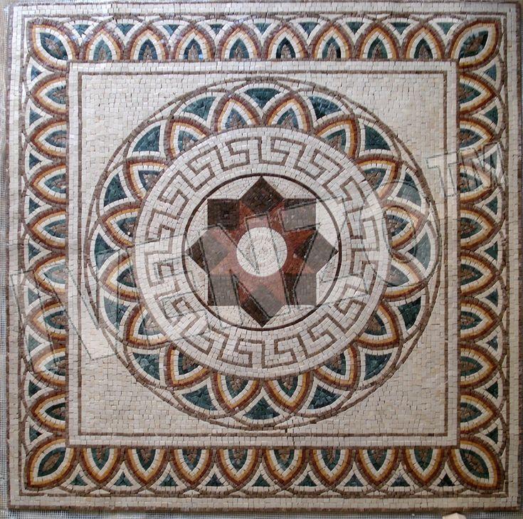 Mejores 22 im genes de mosaicos en pinterest mandalas for Disenos para mosaicos