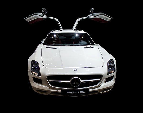 Mercedes AMG white colour