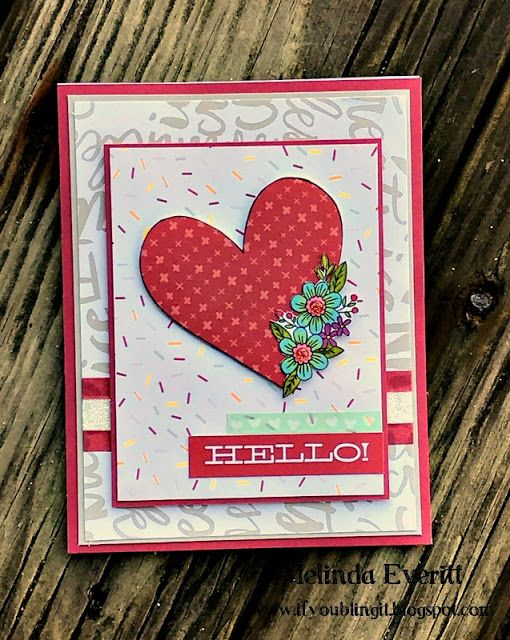If You Bling It. Melinda Everitt. Close to My Heart. Sugar Rush. Stamp of the Month.