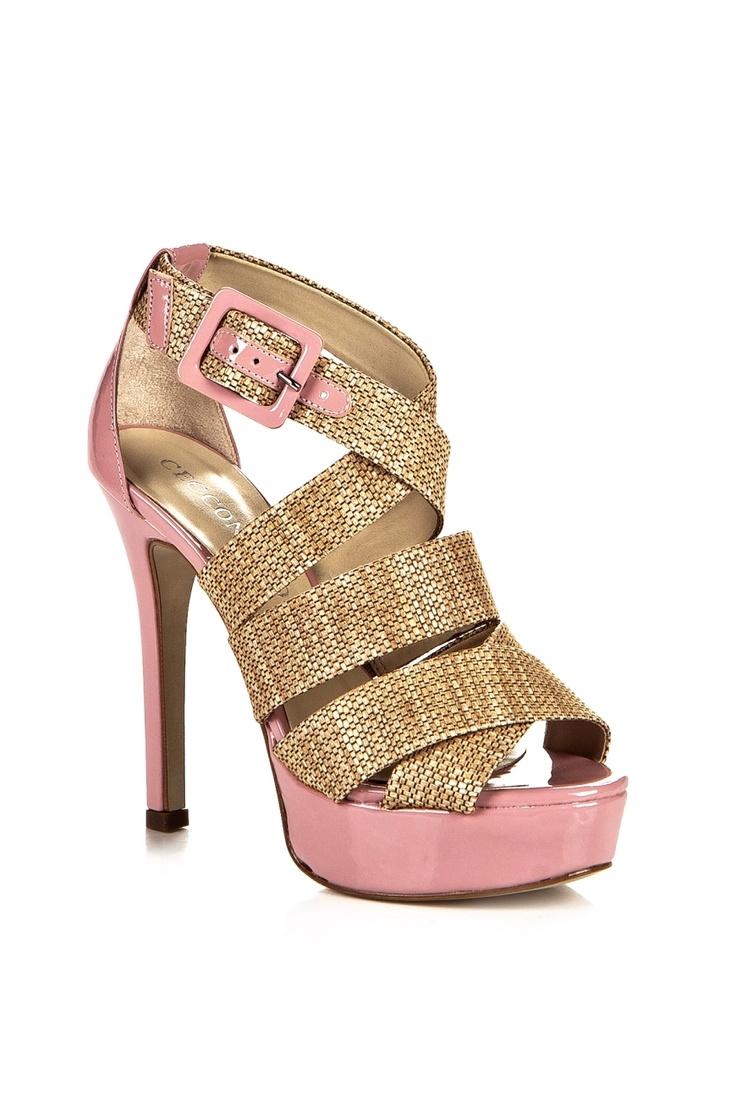 Cecconello Kalın Bantlı Platform Topuklu Ayakkabı, Ayakkabı Modelleri
