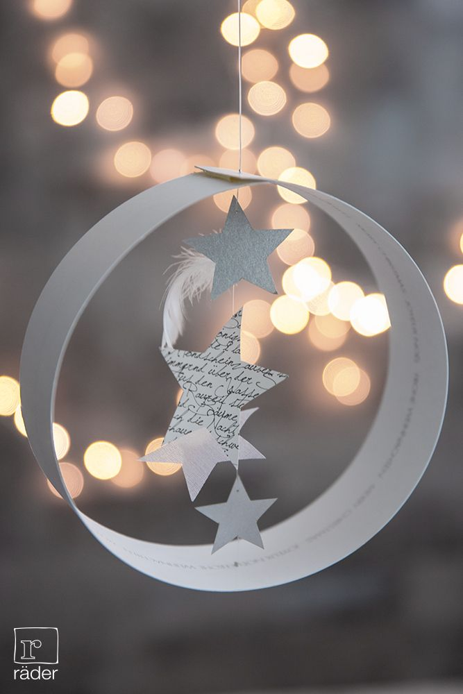 """Idée de déco pour Noël - pourquoi pas à envoyer """"à plat et à monter"""" comme carte de voeux ?"""