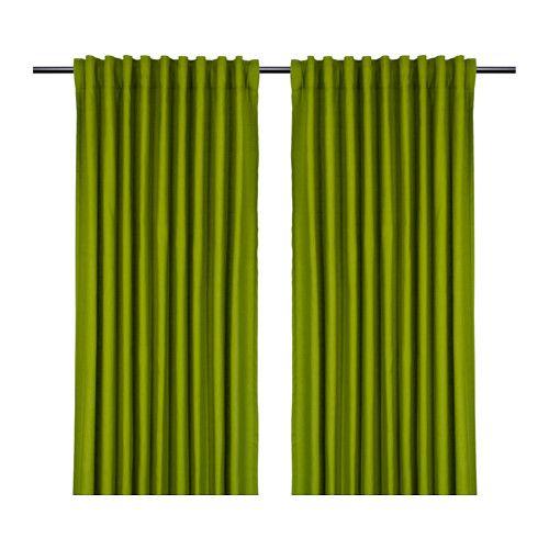 IKEA - MARIAM, Gardinenpaar, , Blickdichte Gardinen schirmen Lichteinfall effektiv ab und sorgen für Privatsphäre.