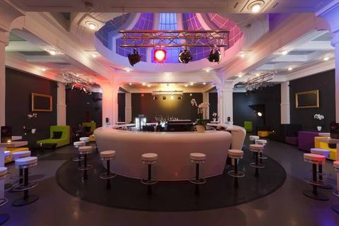 fusion hotel prague bar area