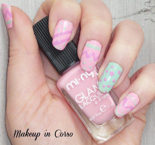Makeup in Corso: Una dolce e colorata Pasqua con gli smalti MI-NY!