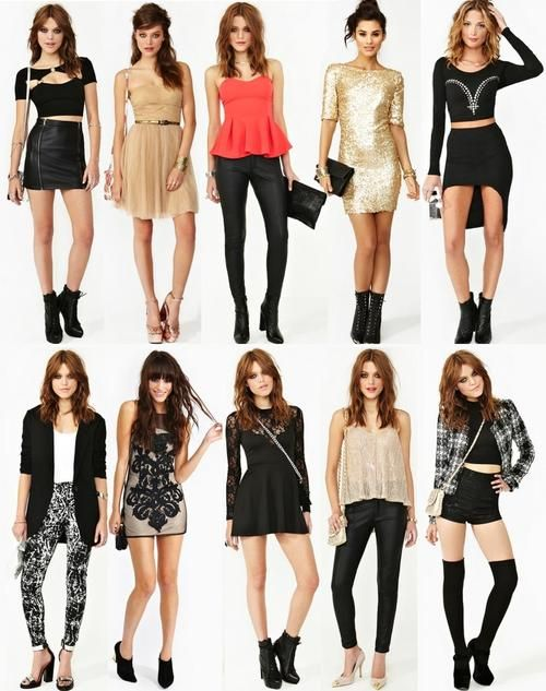 explore casual party outfits