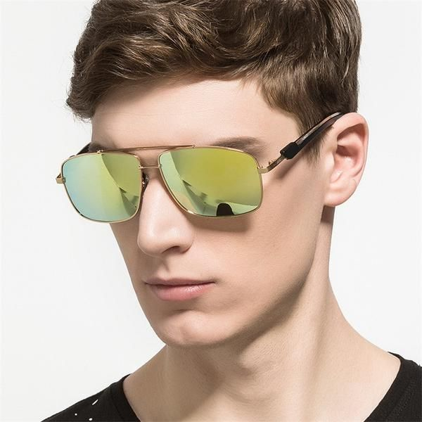 FuzWeb:HD.space Men's Casual Style Polarized Sunglasses for Driving Sun Bath and other Leisure Activities