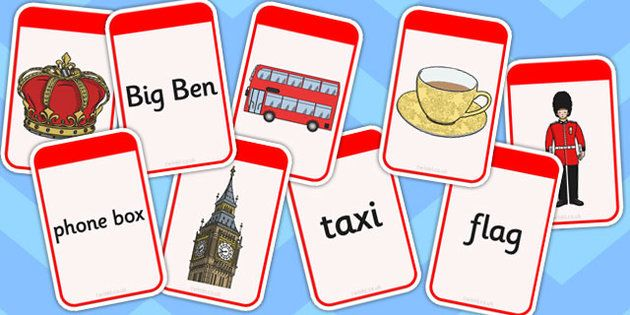 British Values Matching Flash Cards - british, values, matching