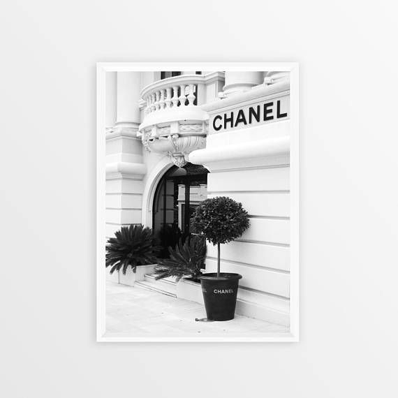 Chanel Print Chanel Wall Art Poster Coco Chanel Printable