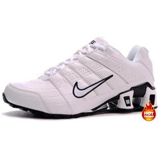 http://www.asneakers4u.com Mens Nike Shox NZ 2 White Black